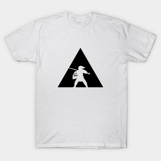ed2be54eb The Legend of Zelda - Link silhouette black - Legend Of Zelda - T ...