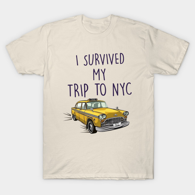 I Survived My Trip To NYC - Spider Man - T-Shirt  19b18f5ef57