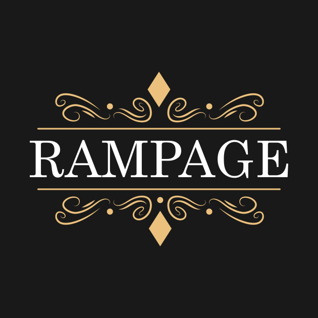 Rampage league of legends lol gaming T-Shirt