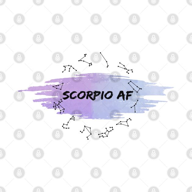 Scorpio Af : Spiritual Birth signs