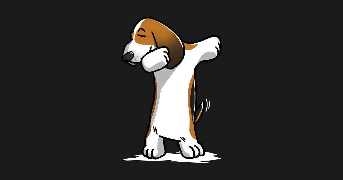 Funny Dabbing Basset Hound Dog Basset Hound Pillow