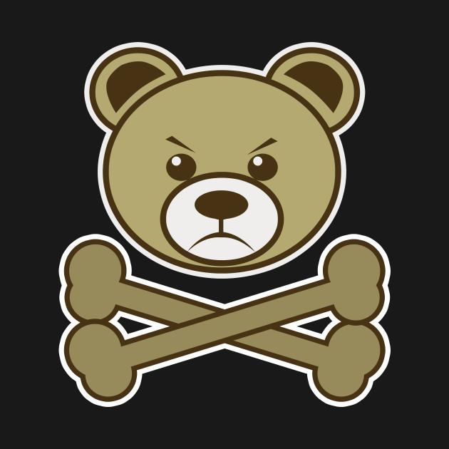 Pirate Teddy Bear Cartoon Tank Top Teepublic