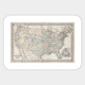 United States History Stickers | TeePublic on calendar stickers, kentucky stickers, hawaii map stickers, usa patchwork map stickers, wyoming stickers, barbados map stickers, mississippi stickers, states visited maps stickers, north carolina stickers, united states state abbreviations,