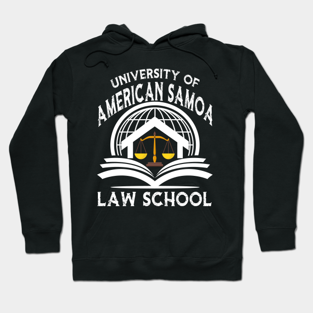University Of American Samoa Law School University Of American Samoa Law School Hoodie Teepublic American samoa is a group of islands in the south pacific ocean that lie about halfway between hawaii and new zealand and about 100km east of the island country of samoa, which is part of the same archipelago, ethnicity and culture. teepublic