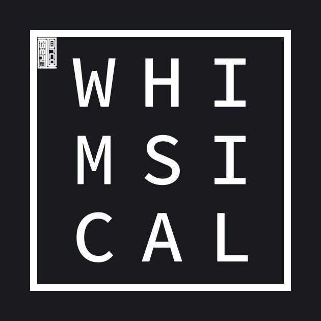WHIMSICAL Define Me Word Simple Classic Square Box