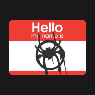 3aeeb0e2ae2 Hello my name is Miles Morales T-Shirt