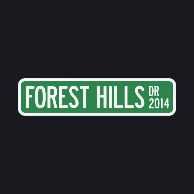 J Cole Forest Hills Drive Logo