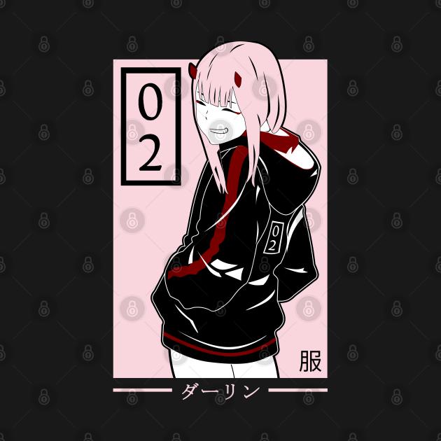 Zero Two - Darling in The Franxx
