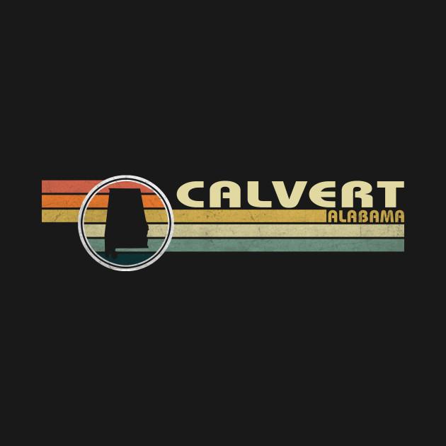 Alabama - Vintage 1980s Style CALVERT, AL Shirt