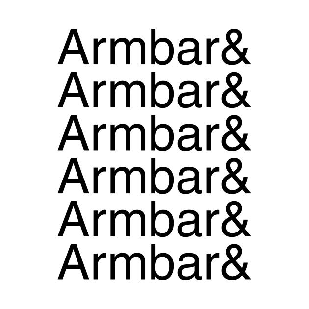 Armbar and armbar and armbar and armbar (black text)