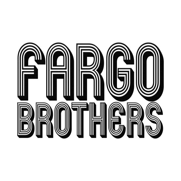 Fargo Brothers Retro V2 - Black Letters