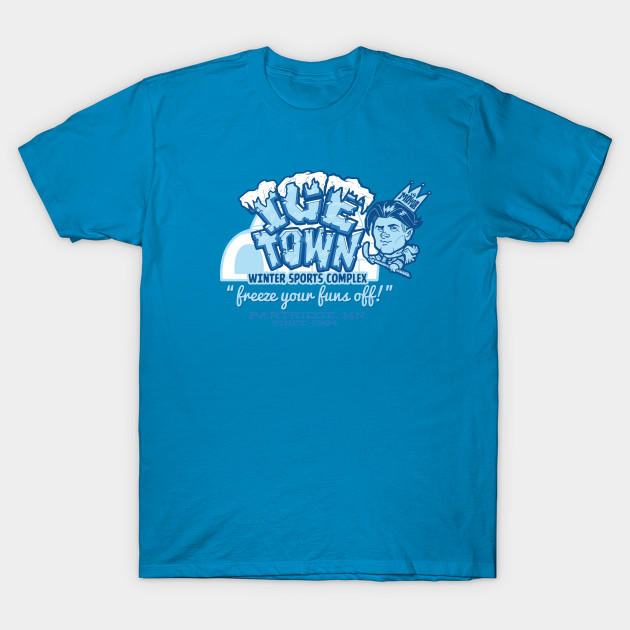 05940a5a75b Ice Town - Parks And Rec - T-Shirt