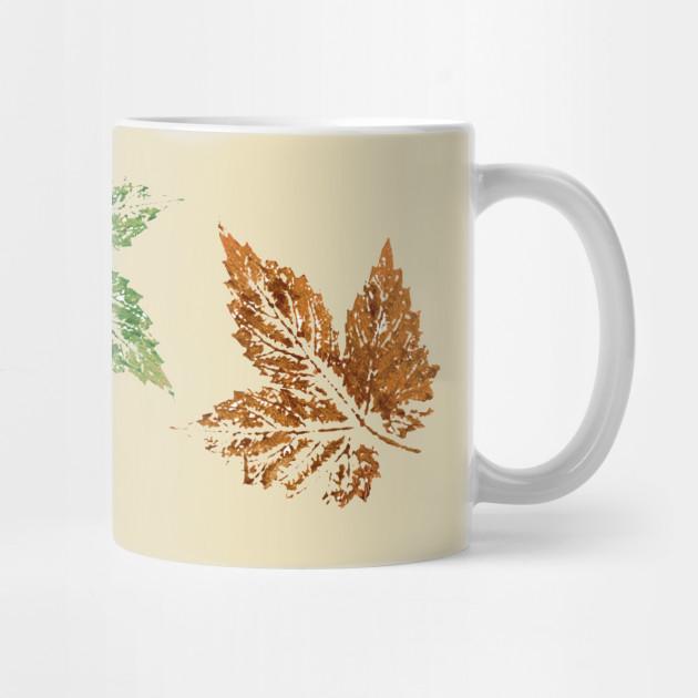 The Golden Girls Autumn Fall Leaves Leaf Mug The