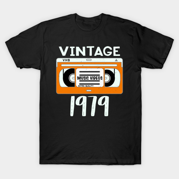 Vintage 1979 40th Birthday Gift For Men And Woman T Shirt