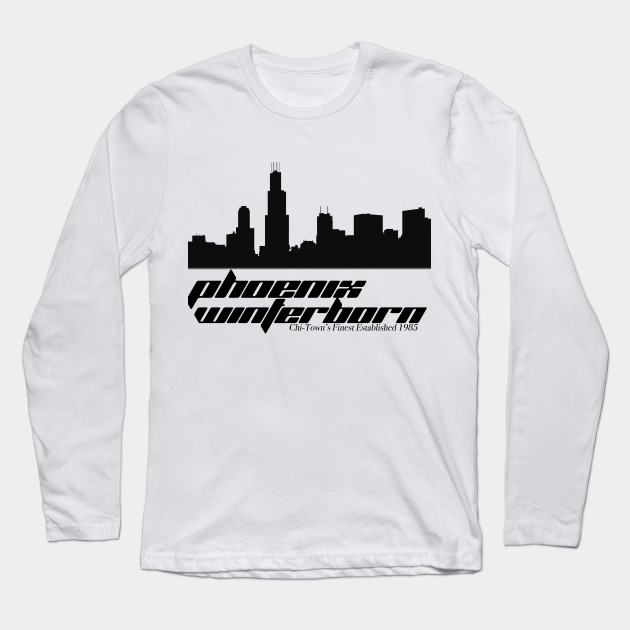 Chi town 39 s finest wrestling long sleeve t shirt Chi town t shirts