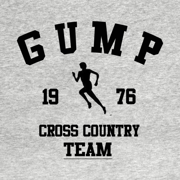 Forrest Gump - Gump Cross Country Team