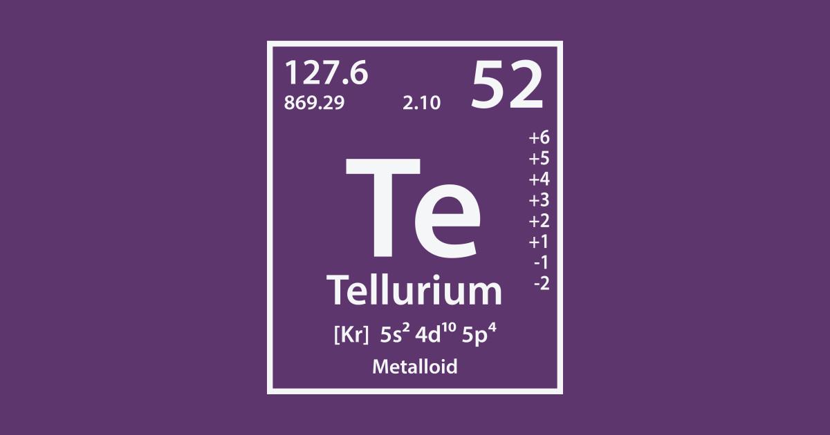 Tellurium Element Tellurium Pillow Teepublic
