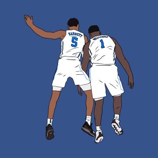a01e37d9725c RJ Barrett And Zion Williamson T-Shirt