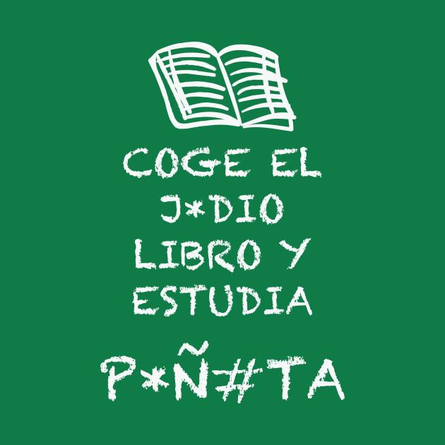 Estudia, ¡Coge el libro!