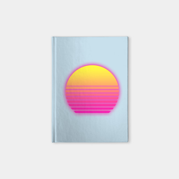 Retro Neon Sunset