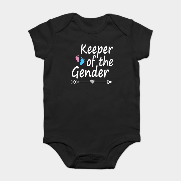 Keeper of Gender reveal party idea baby announcement