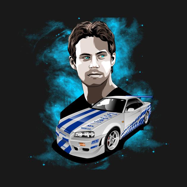 Paul Walker GTR 34