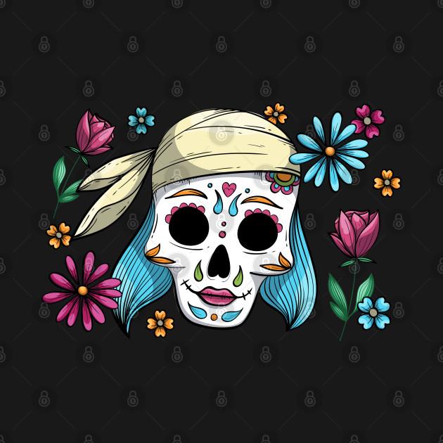 Girl skeleton design