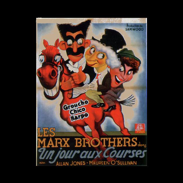 Marx Bros Classic Movie Poster