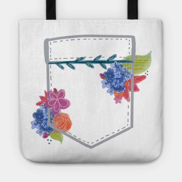 Floral Pocket