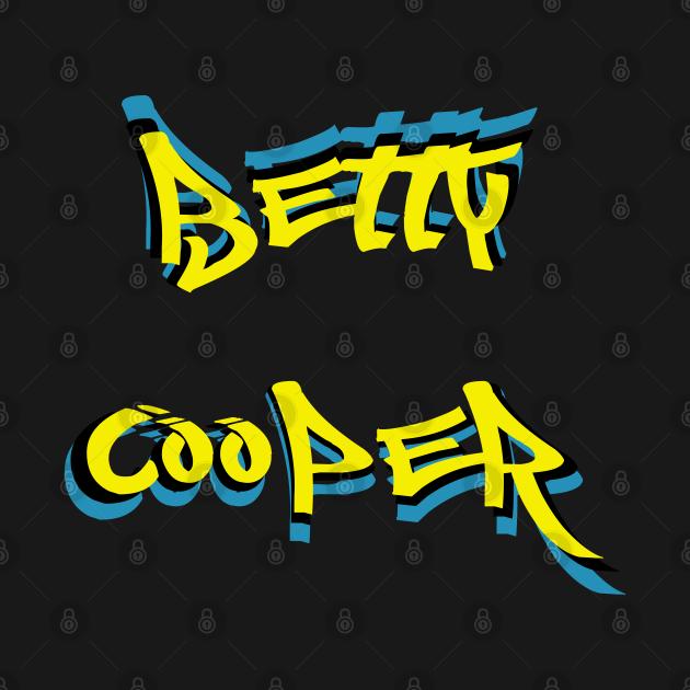 Betty Cooper Graffiti