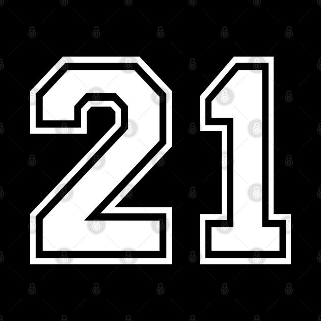 Number 21 Twenty One