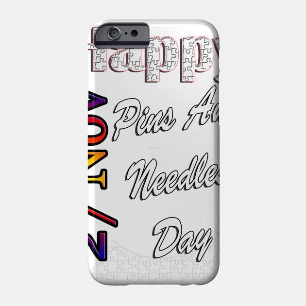 Nov 27th, Pins And Needles Day, Custom Gift Design