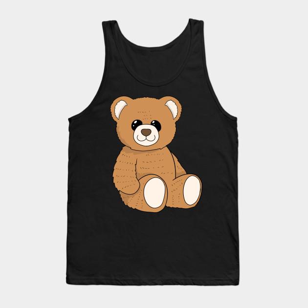 Cute Teddy Bear Stuffed Toy Teddy Tank Top Teepublic