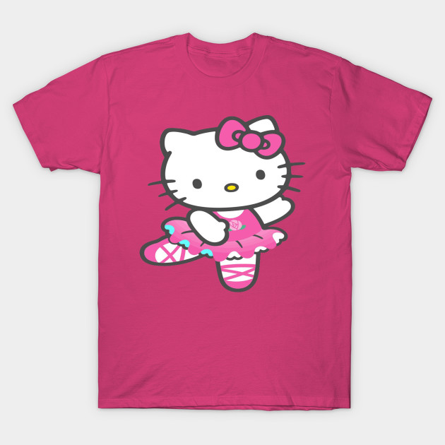 Hello kitty hello kitty t shirt teepublic for Hello kitty t shirt design