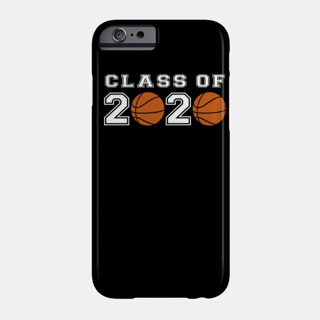 Class of 2020 Basketball Player Senior Night Graduation Gift Phone Case