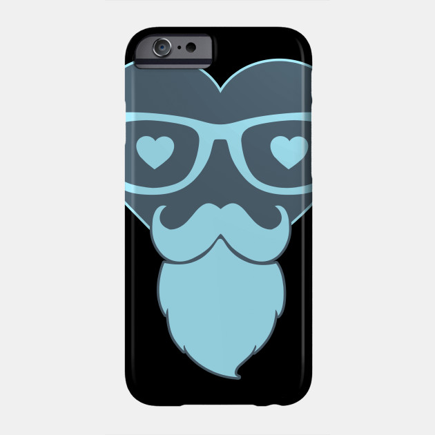 Hipster Heart Love Love Valentine's Day Phone Case