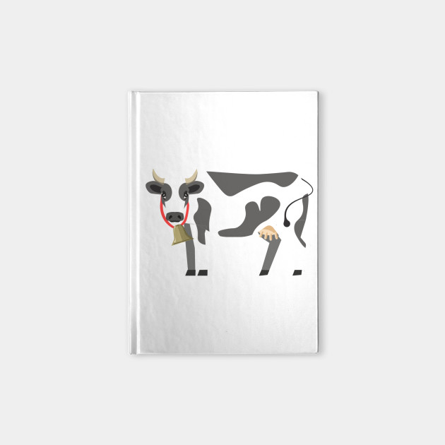 Dairy Icon Cow Milk Design