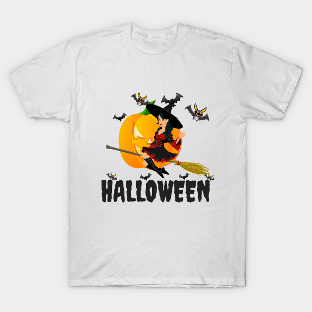 989487ac Halloween Witch Funny Adult T-Shirt Men And Women and Youth - Mens ...