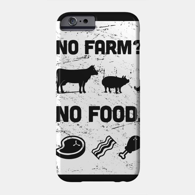 No Farm? No Food. | Funny Farmer Design