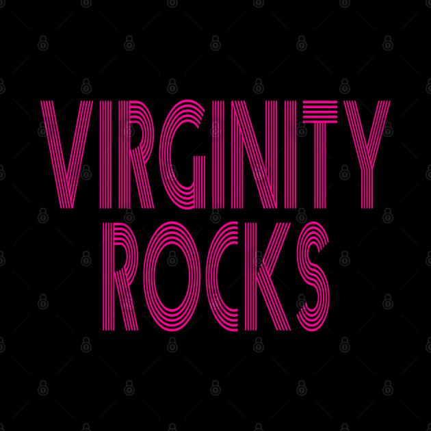 virginity rocks pink vintage