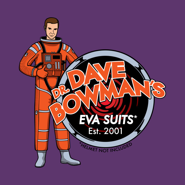 Dave Bowman's EVA Suits