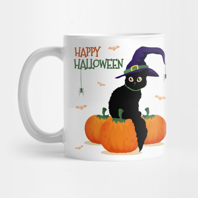 happy halloween 19 tshirt, happy halloween 20 purple mini li Mug
