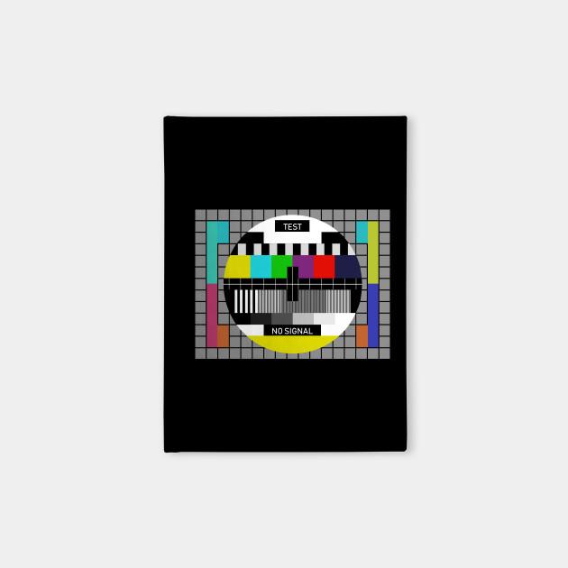 Nostalgia TV Test Signal Tshirt