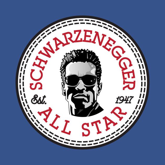 2e38eb1785fed2 Arnold Schwarzenegger All Star Converse Logo Arnold Schwarzenegger All Star Converse  Logo