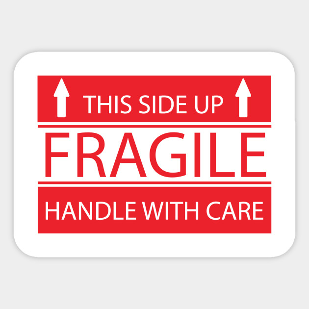 It is an image of Fan Fragile Stickers Printable