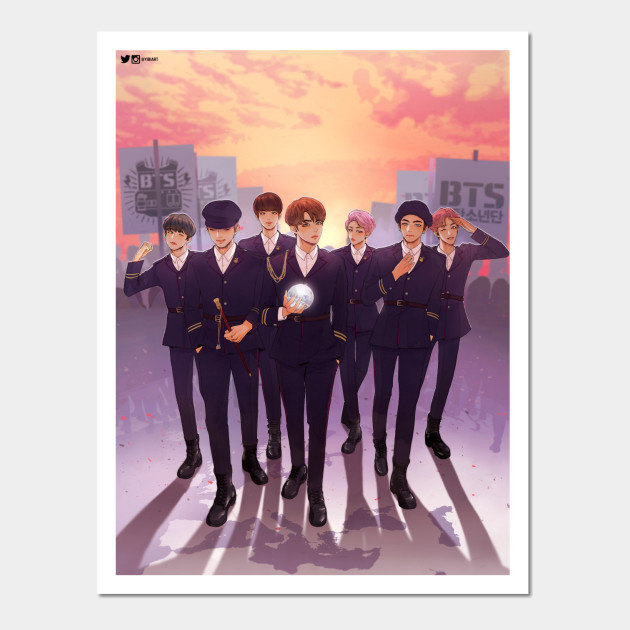 BTS If I Ruled The World - Bts - Wall Art
