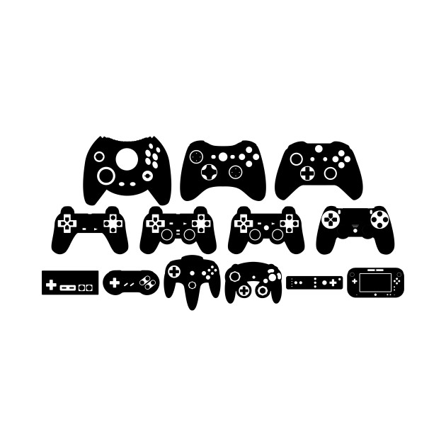 Gamepad Evolution (Black)