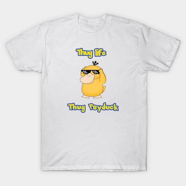 e8f99cef thug psyduck - Psyduck - T-Shirt | TeePublic