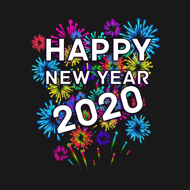 New Years 2020 Happy New Year 2020   Happy New Year 2020   Kids Hoodie | TeePublic