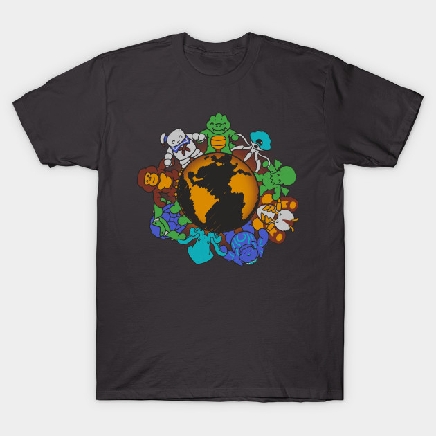 41cad62c We are (the Destroyers of) the World - Monsters - T-Shirt | TeePublic